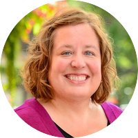 Headshot of Heather James, Stewardship and Donor Relations Specialist.
