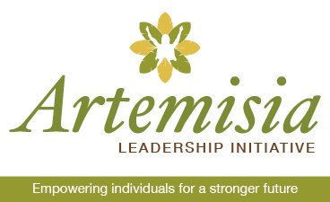 "Artemisia Leadership Initiative logo with the words, ""Empowering individuals for a stronger future"" below."