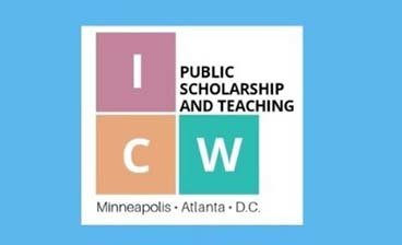 ICW Public Scholarship and Teaching graphic.